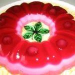 Jöleli meyveli yaş pasta