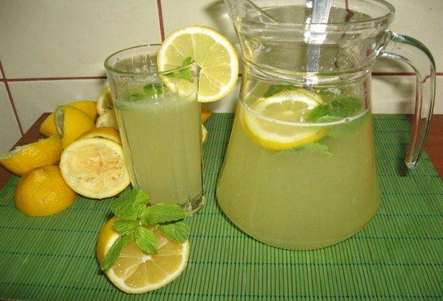 Konsantre limonata yapımı