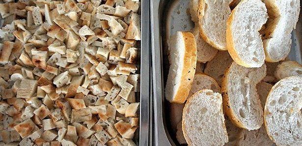 Ekmek cipsi yapılışı