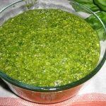 Pesto sosu