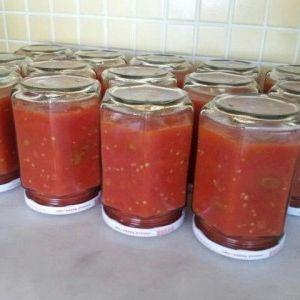 Kışlık domates sos