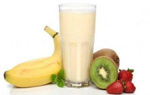 Yoğurtlu milkshake